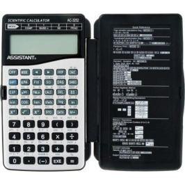 Калькулятор настольный Assistant AC-3252 10+2-разрядный серый/черный