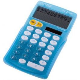 Калькулятор настольный Citizen FC-100N Junior 10-разрядный голубой