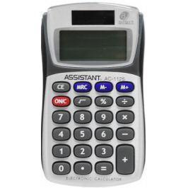 Калькулятор карманный 8-разр., двойное питание, металл. панель, разм.101х57,5х16 мм, оригин. дизайн