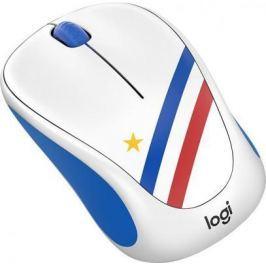 Мышь беспроводная Logitech Wireless Mouse M238 Fan Collection FRANCE 910-005404 рисунок USB