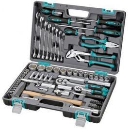 Набор инструментов STELS 14104 1/2 1/4 CrV пластиковый кейс 76 предм.