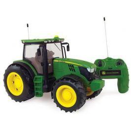 Трактор Tomy John Deere 6190R 1:16 зеленый Т11313