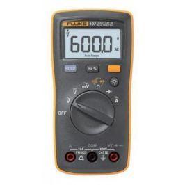 Мультиметр FLUKE 107 цифровая 600мА желтый, черный 0,2кг