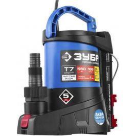 Насос ЗУБР НПЧ-Т7-550 т7 аквасенсор погружной дренажный для чистой воды 550Вт мин. уровень 1мм