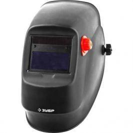 Маска ЗУБР 11074 сварщика мастер с автозатемнением размер экрана 92х42мм изменяемое затемнение