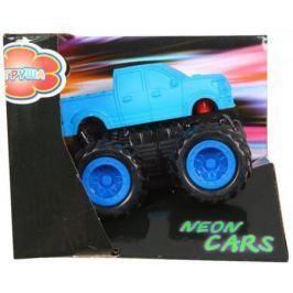 Машина Yako Neon cars синий 8395R-1