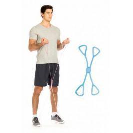 Эспандеры для фитнеса резиновые «ИКС», синие SF 0262