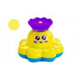 Игрушка детская для ванны «ФОНТАН-ОСЬМИНОЖКА» желтый DE 0248