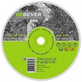 Круг отрезной DEBEVER WC23020229S 230х2.0х22.23 по металлу