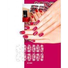 Арт-пленка для дизайна ногтей «ИЗМОРОЗЬ» KZ 0383