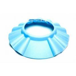Шапочка - козырёк для мытья головы детская «КУПАЕМСЯ БЕЗ СЛЁЗ» голубой DE 0142