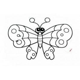 Раскраска надувная «БАБОЧКА» DE 0219