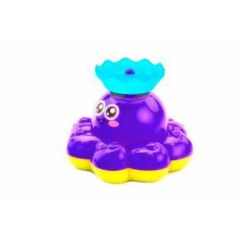 Игрушка детская для ванны «ФОНТАН-ОСЬМИНОЖКА» фиолетовый DE 0249