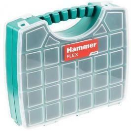 Органайзер Hammer Flex 235-016 двусторонний (56 ячеек с разделителями) 330х285х85 мм