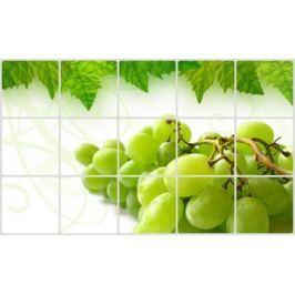 Экран защитный кухонный «ВИНОГРАДНАЯ ГРОЗДЬ» TK 0209