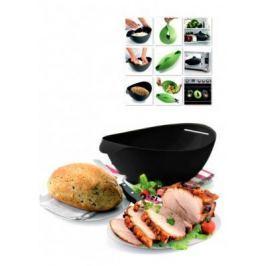 Форма силиконовая для выпечки и запекания, черная TK 0235