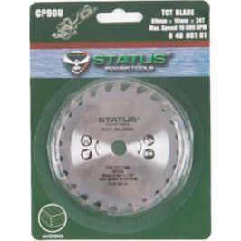 Пильный диск STATUS TCT 24T для CP90U 89x10х1.7мм