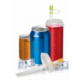 Набор трубочек с крышкой для газированных напитков TK 0161
