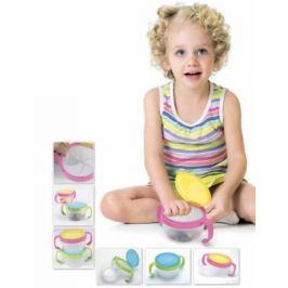 Контейнер для малышей «ПОЙМАЙ ПЕЧЕНЬЕ» розовый DE 0161