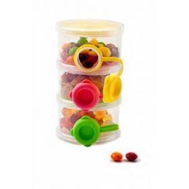Трехслойный контейнер с боковыми отверстиями для пищевых сыпучих продуктов DE 0211