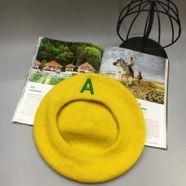 Берет желтый AS 0295