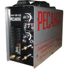 Сварочный аппарат инверторный РЕСАНТА САИ-180-АД TIG+ММА 220В 10-180А 70% 360х135х232мм