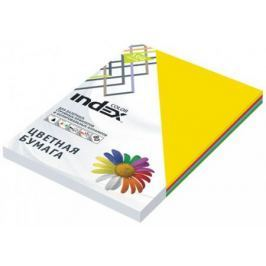 Цветная бумага Index Color IC58/100 A4 100 листов