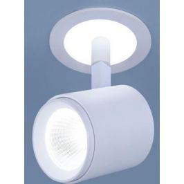 Встраиваемый светодиодный светильник Elektrostandard DSR002 9W 6500K белый матовый 4690389110658