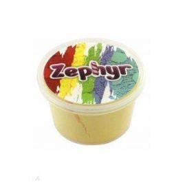 """Кинетический пластилин """"Zephyr""""-жёлтый (0,150 кг в банке) (извините, гиперссылка на картинку отсутствует)"""