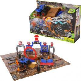 Игровой набор Yako Стадион. Битва машин разноцветный Y12318238