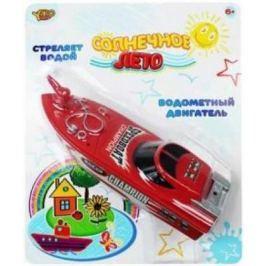 Катер Наша Игрушка Солнечное лето красный M6505