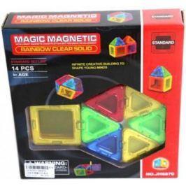Магнитный конструктор Наша Игрушка Magic magnetic 14 элементов JH6870