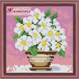 Алмазная живопись Полевые цветы 15х15