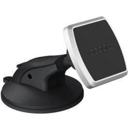 Подставка для телефона Deppa Mage One для смартфонов, магнитный, крепление на приборную панель и лобовое стекло, PU присоска, 55151