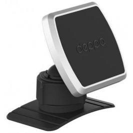 Подставка для телефона Deppa Mage Mount для смартфонов, магнитный, крепление на приборную панель, черный,