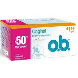 Тампоны o.b. Original - Супер 24 шт 79633