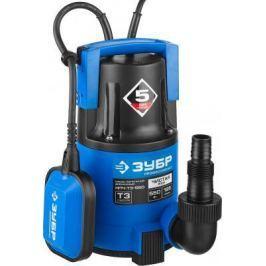 Насос ЗУБР НПЧ-Т3-550 профессионал т3 погружной дренажный для чистой воды dчастиц до 5мм 550Вт 185