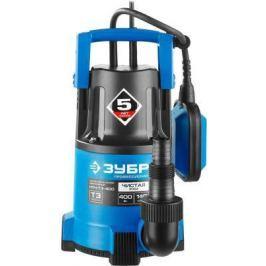 Насос ЗУБР НПЧ-Т3-400 профессионал т3 погружной дренажный для чистой воды dчастиц до 5мм 400Вт 140