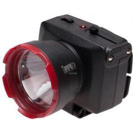 Фонарь КОСМОС KOCAccuH1WLED светодиодный аккум. налобный LED 2 режима 1Вт 500мА.ч зарядка от 220В