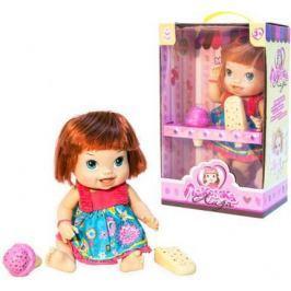 """1toy кукла с мороженым (2шт.)""""Лакомка Лиза"""" 36см,с каре,кор."""