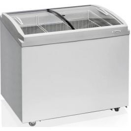 Морозильный ларь Бирюса Б-260VCZQ белый 231Вт