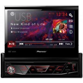 Автомагнитола CD DVD Pioneer AVH-3100DVD 1DIN 4x50Вт