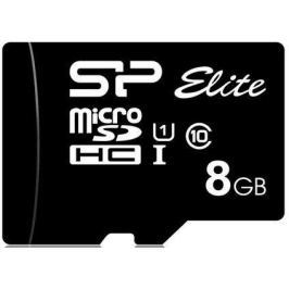 Флеш карта microSDHC 8Gb Class10 Silicon Power SP008GBSTHBU1V10 Elite w/o adapter