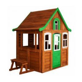 Игровой домик Можга Детский домик Цветочный цвет зеленый (P920-3)