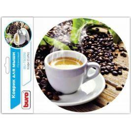 Коврик для мыши Buro BU-T60051 рисунок/кофе [350571]
