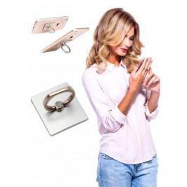 Кольцо-держатель и подставка для телефона и планшета, серебряное SU 0057
