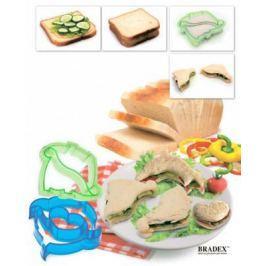 Форма-резак для бутербродов и выпечки «ДИНОЗАВРИКИ» TK 0217