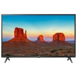 "Телевизор LED LG 55"" 55UK6300PLB черный/Ultra HD/100Hz/DVB-T2/DVB-C/DVB-S2/USB/WiFi/Smart TV (RUS)"
