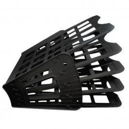 Лоток для бумаг SPONSOR, вертикально-горизонтальный, пятисекционный, черный ST905-5