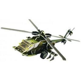 Пазл 3D Fusion Toys Вертолет AH-64 36 элементов FT20002